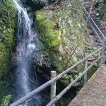 ミニ四国霊場の遊歩道と修行に使われたであろう滝